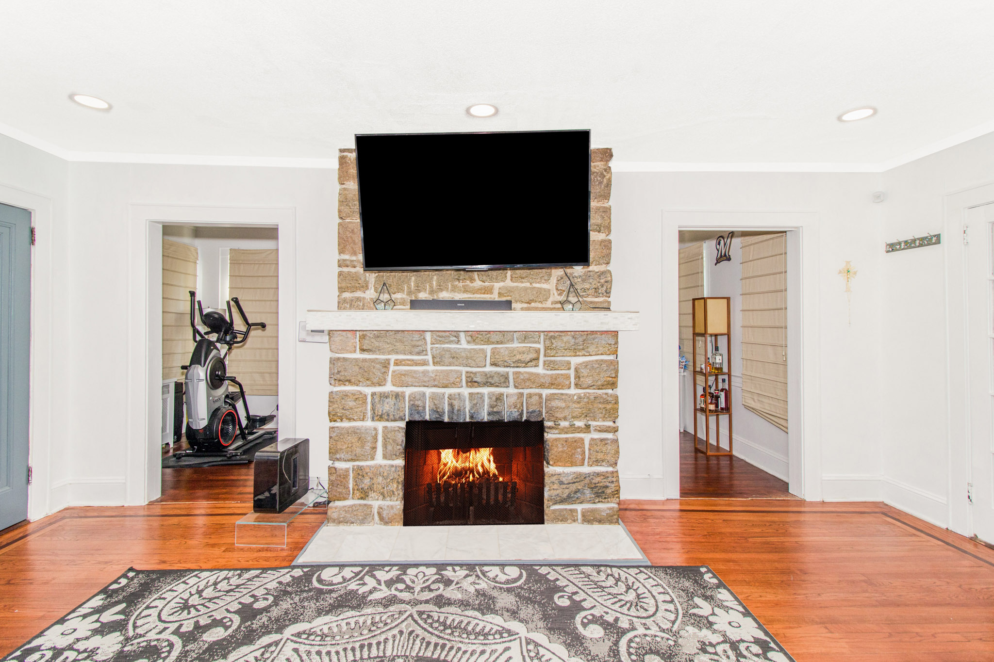 Add Fire to Fireplaces After