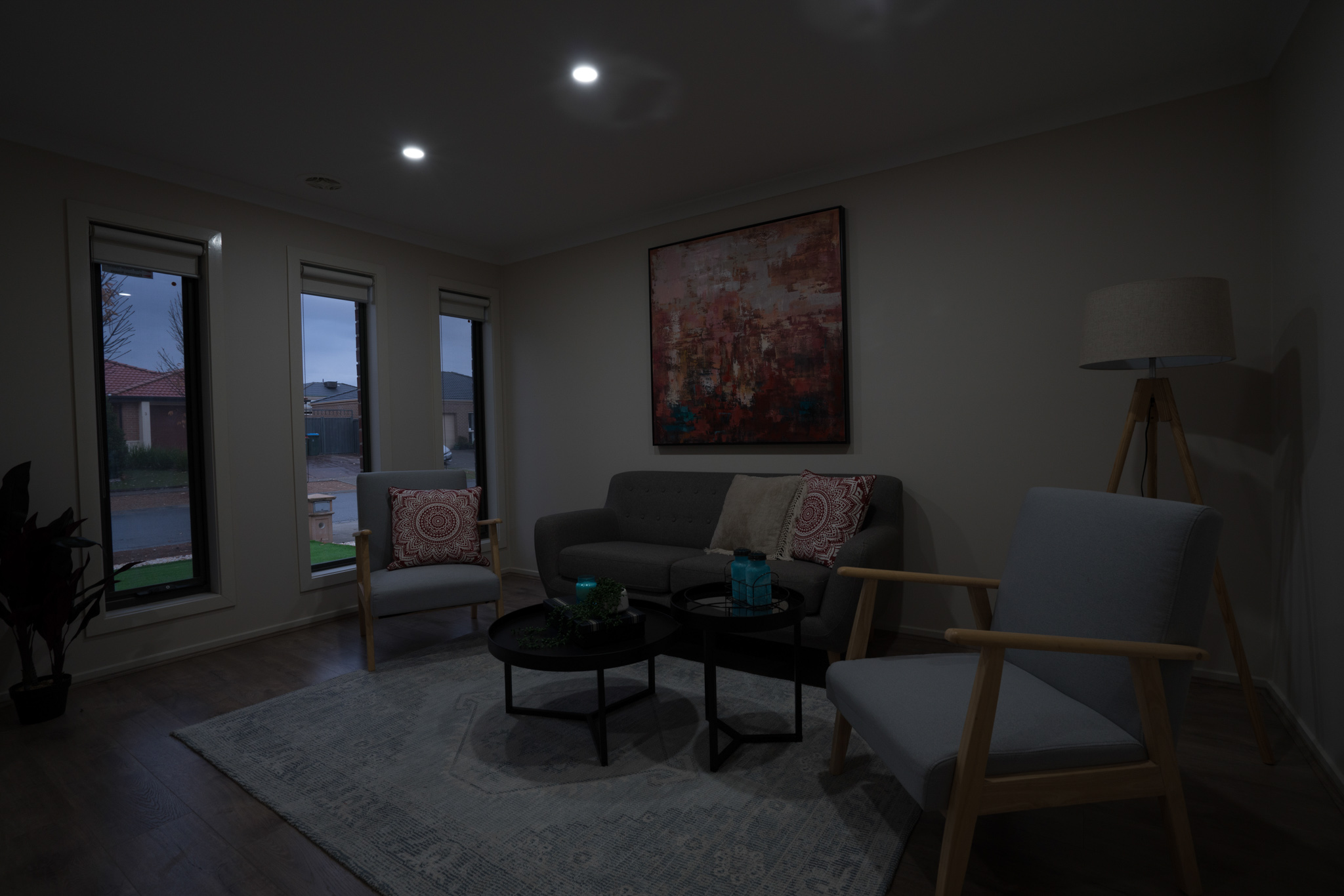 HDR Bracketing with Indoor Window Replacement Before